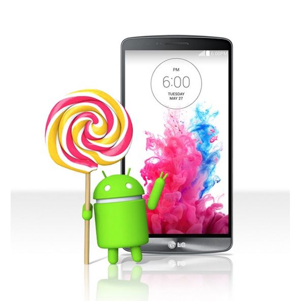 LG Confirms Android 5 0 Lollipop Roll-out for LG G3 Starting