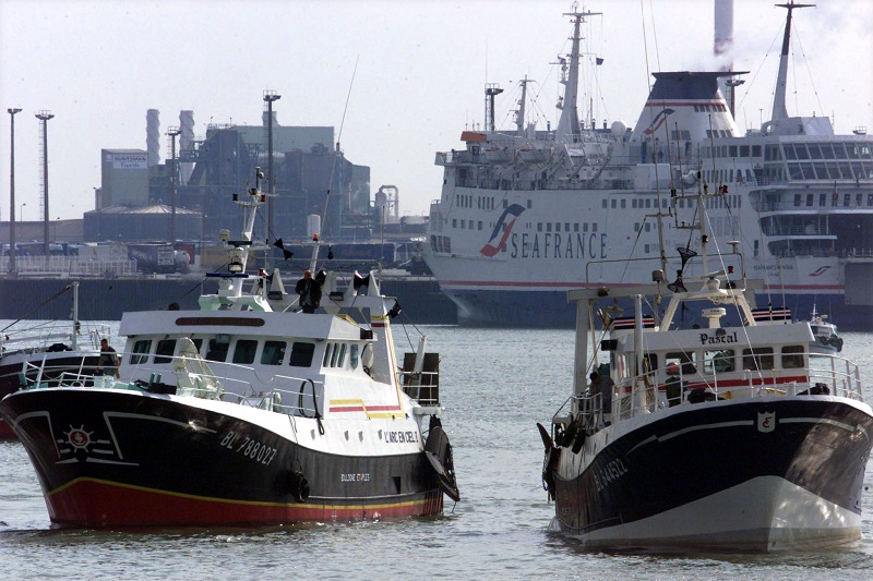 Passengers from the Dover ferry were evacuated after it hit the dock as it left the harbour