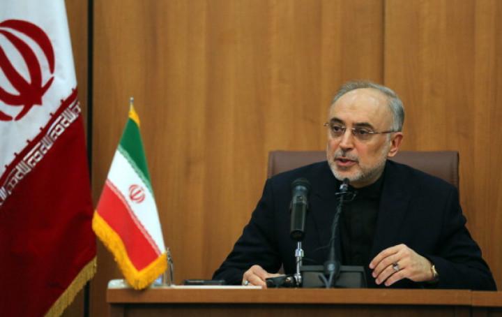 Head of Iran's Atomic Energy Organisation Ali Akbar Salehi