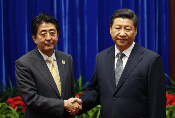 China's Xi Jinping and Japan's Shinzo Abe in Hold Landmarks Talks in Beijing