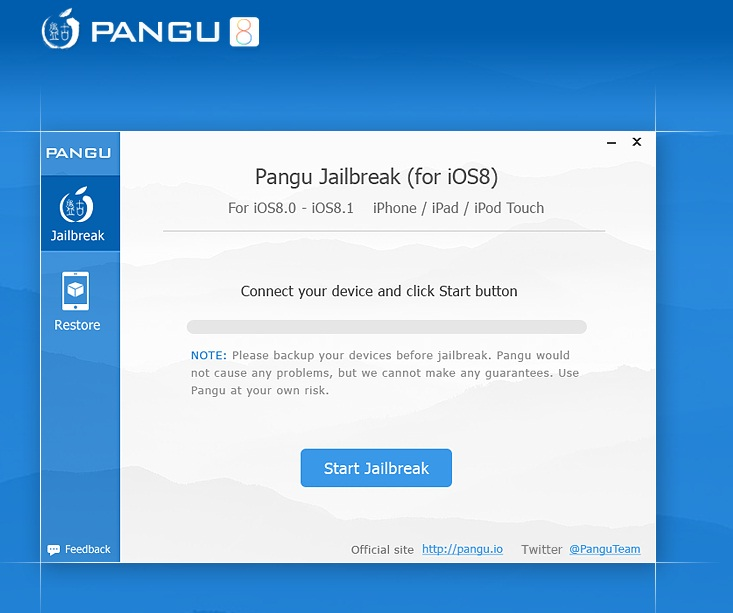 Pangu8 1.0.0 for Mac