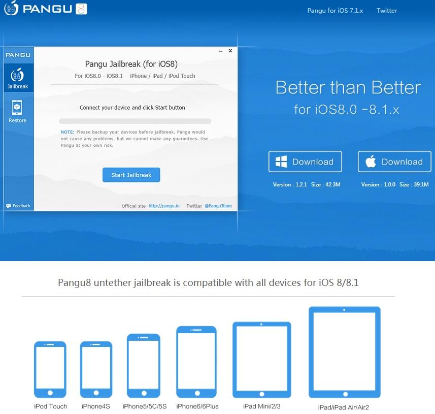 Pangu8 1.0.0 for Mac