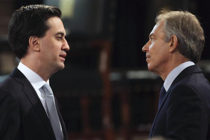 Miliband and Blair