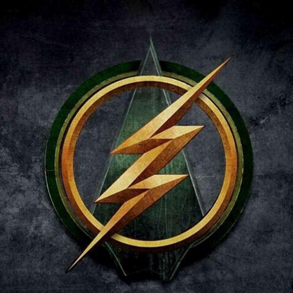 The Flash/Arrow crossover episode logo