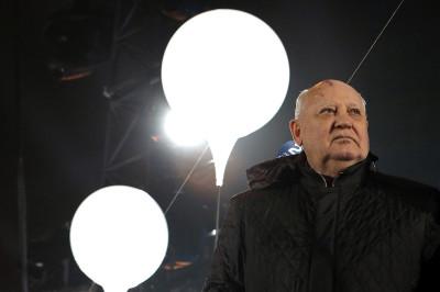 berlin wall gorbachev
