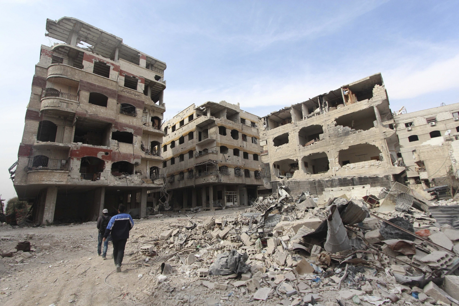 Nuclear scientists killed in Syrian capital Damascus