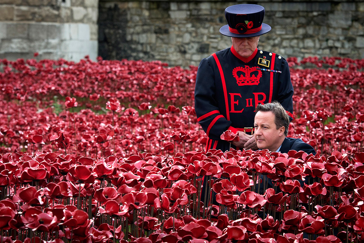 remembrance sunday cameron