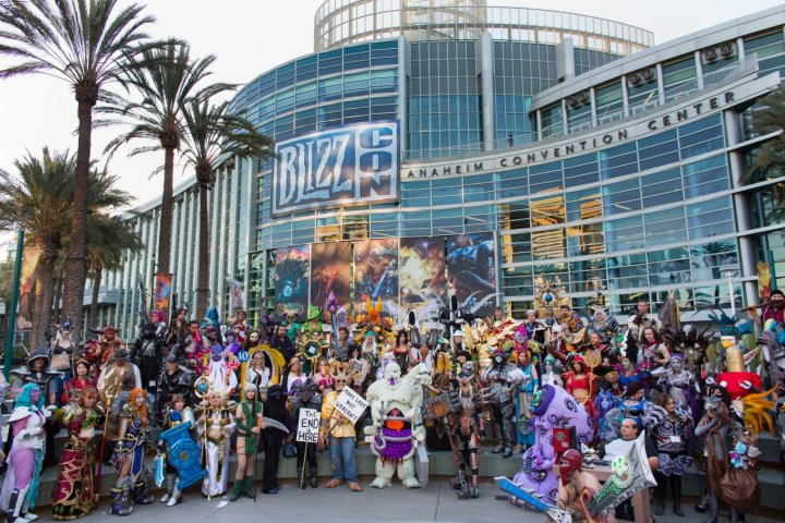 BlizzCon 2014 cosplay group