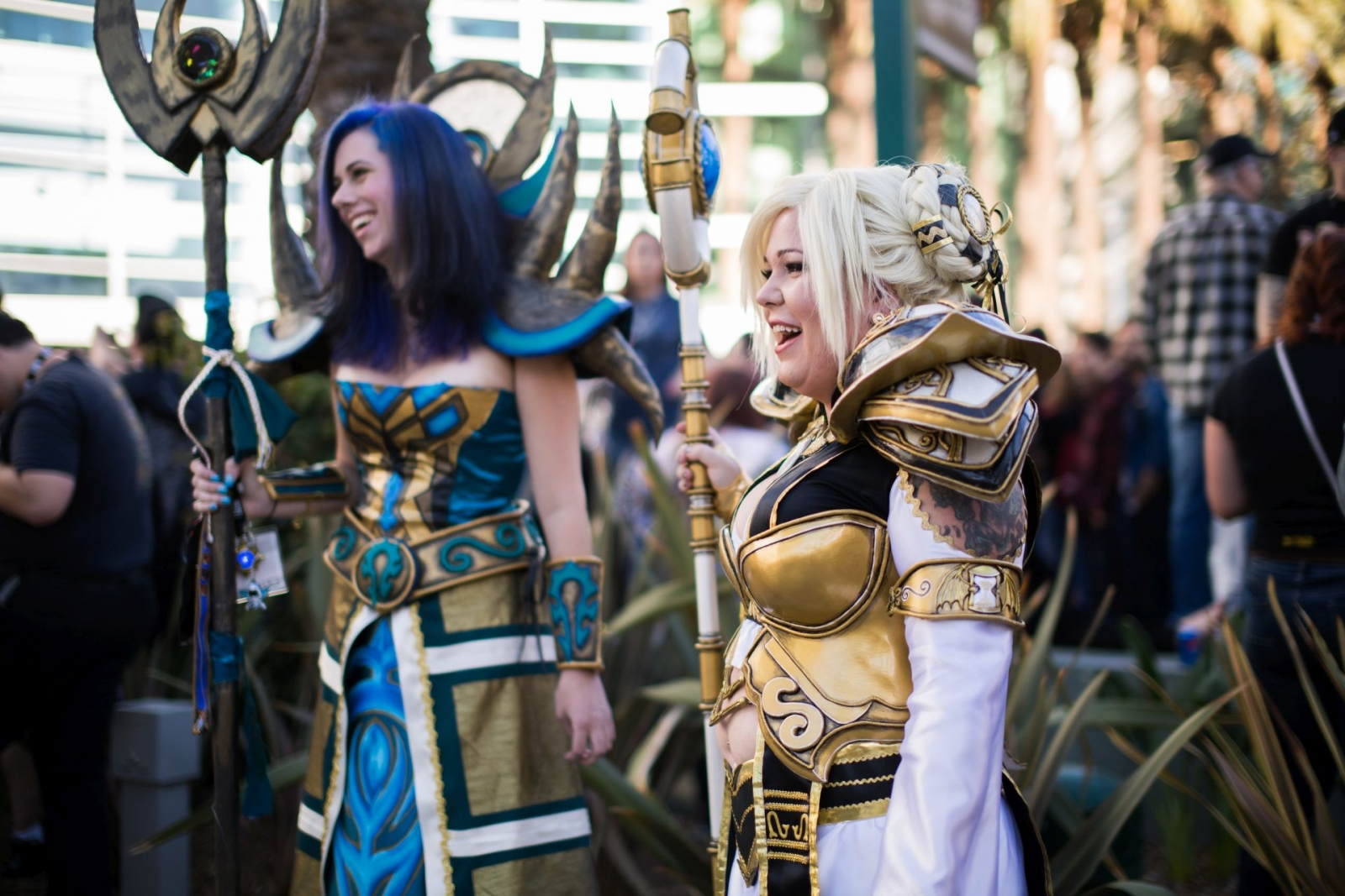 BlizzCon 2014 attendees in cosplay