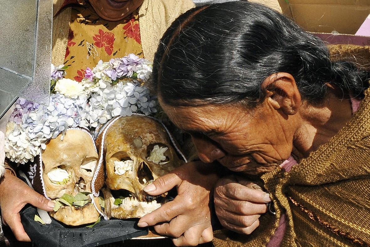 bolivia day of the skulls