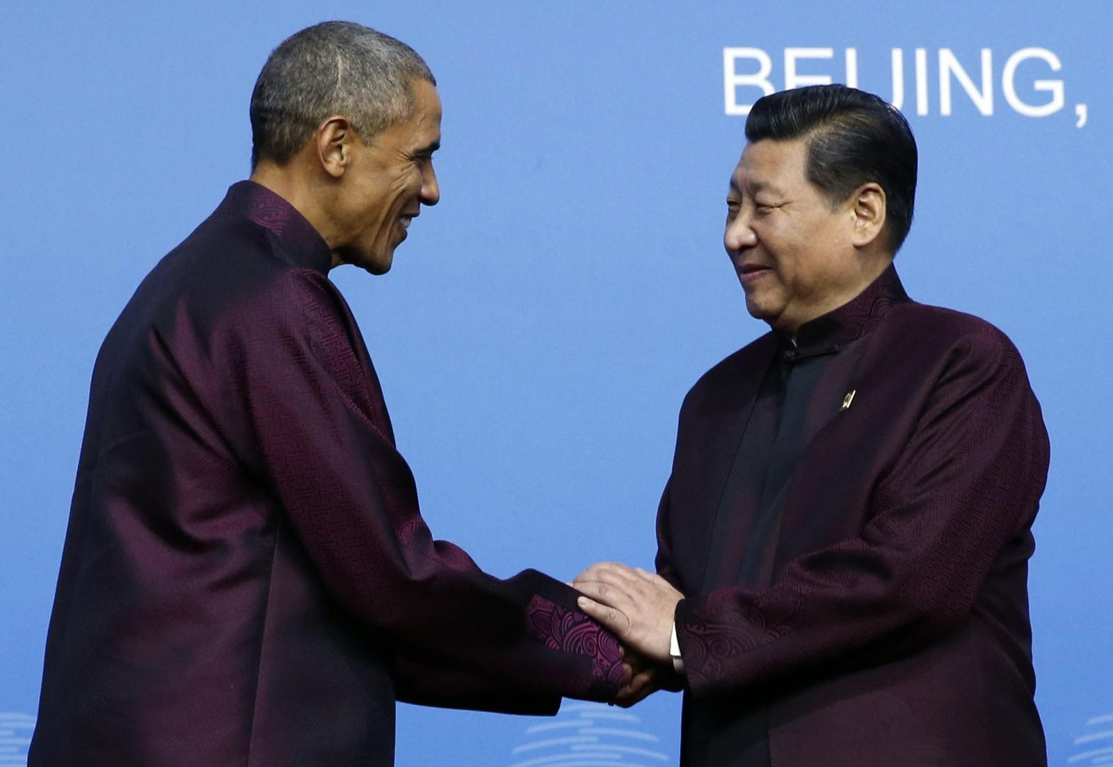 Barack Obama Xi Jinping Apec