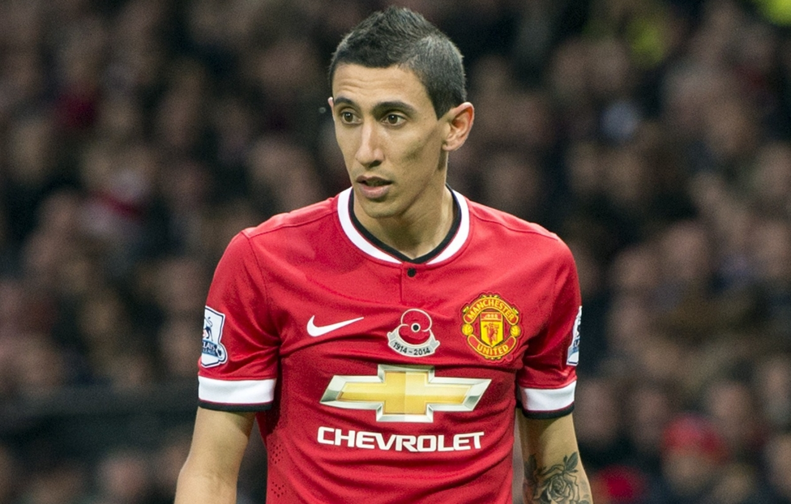 Angel Di Maria Happy At Manchester United, Insists Wife