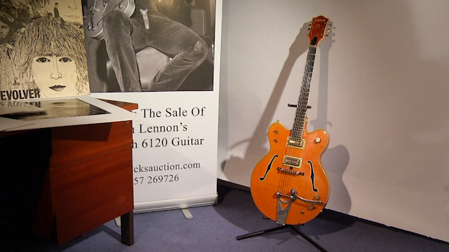 All You Need is £600,000 - John Lennon's 'Paperback Writer' Guitar goes to Auction