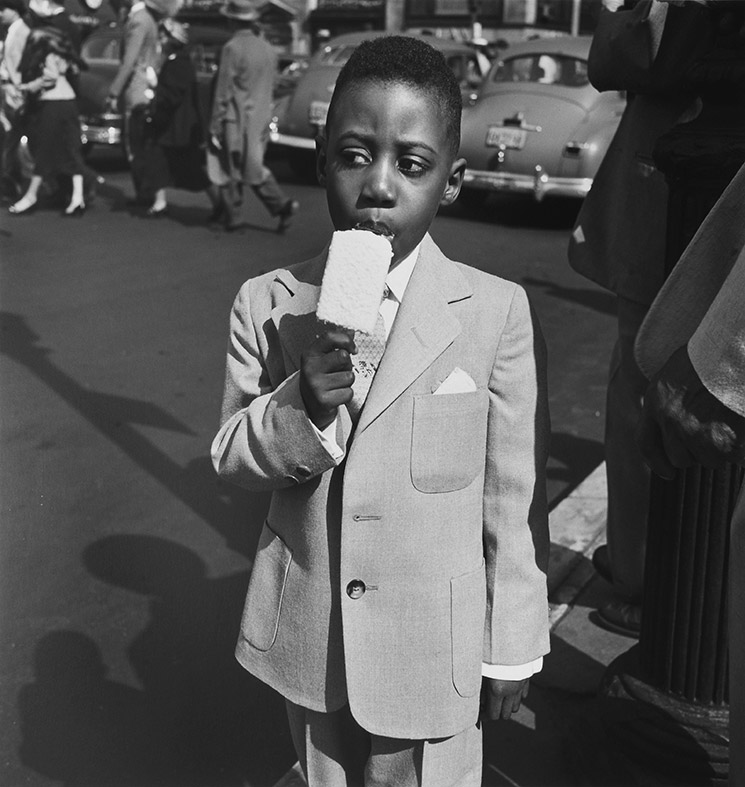 Vivian Maier, New York, 10 April, 1955
