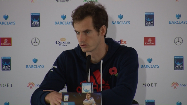 Andy Murray Discusses Loss to Kei Nishikori
