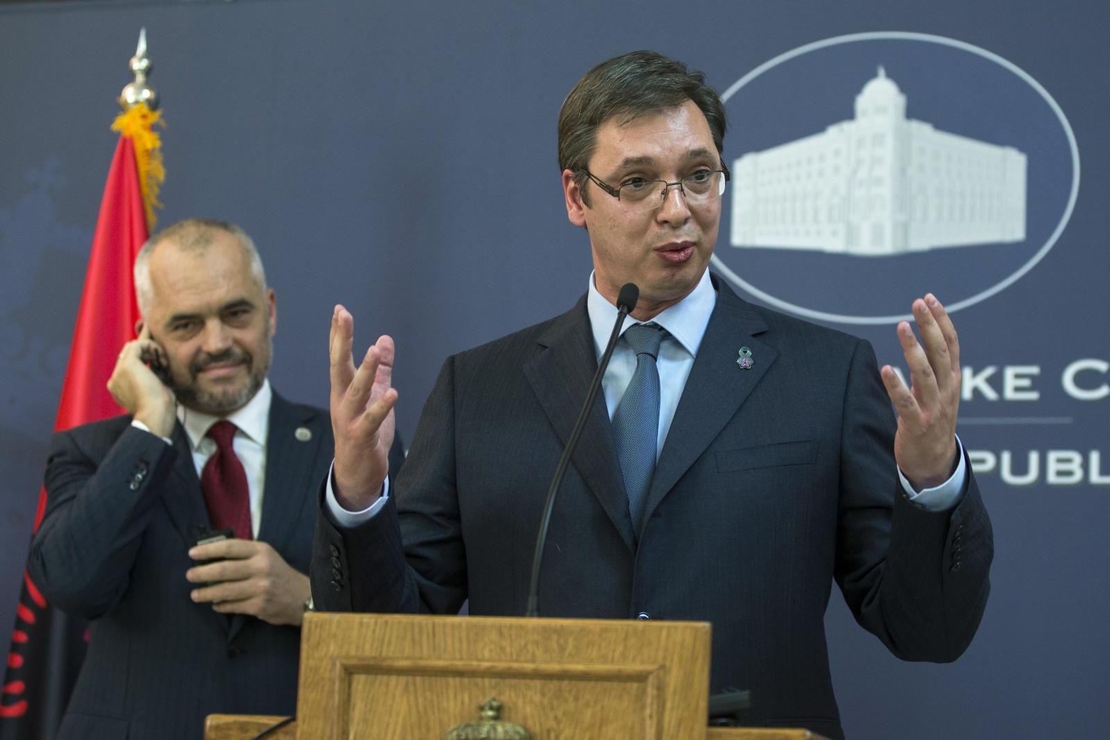 Albanian PM Edi Rama