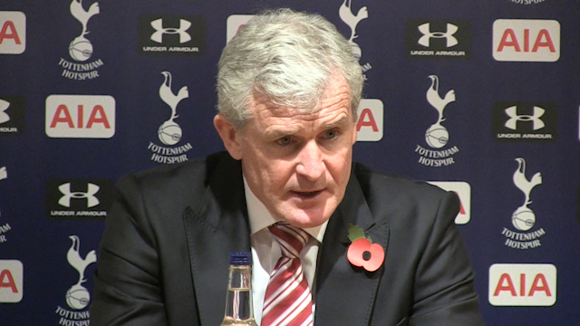 Mark Hughes: We've Shown We're a Capable Team