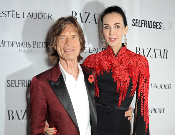 Sir Mick Jagger and L'Wren Scott