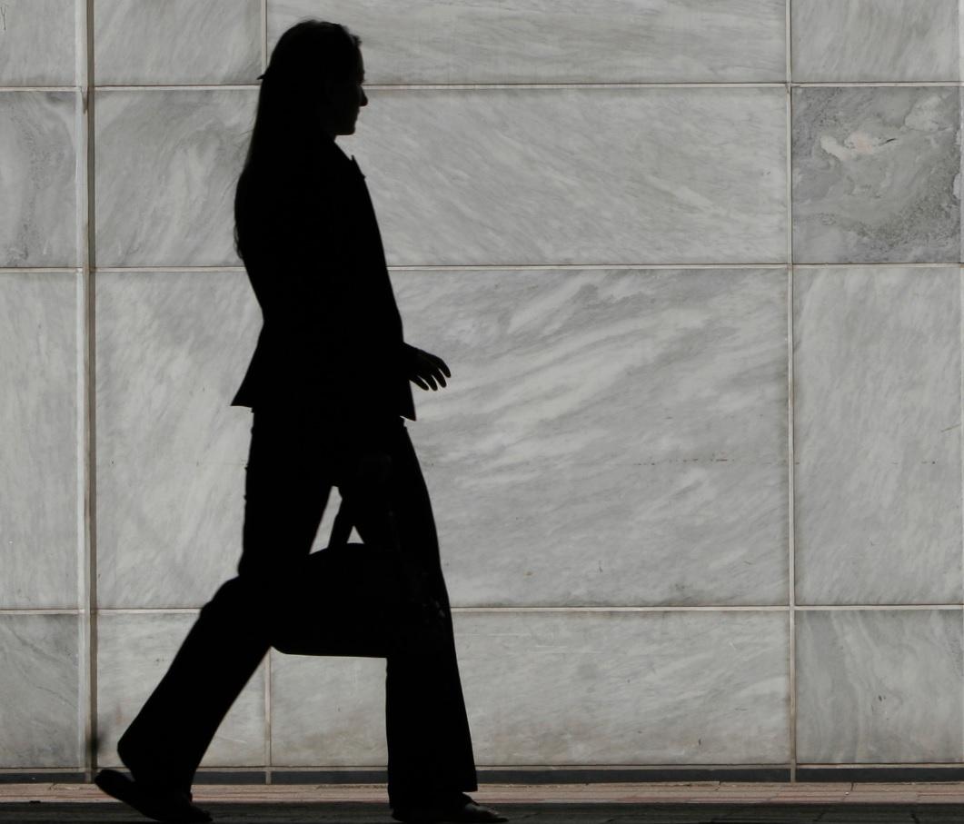 UK female worker