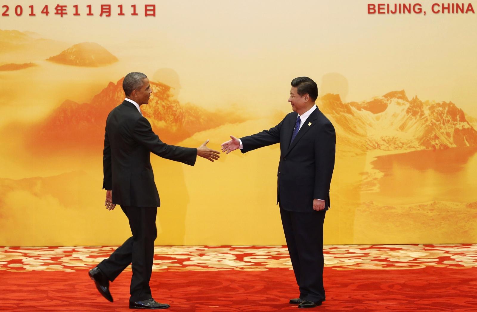 Obama Xi Jinping Apec