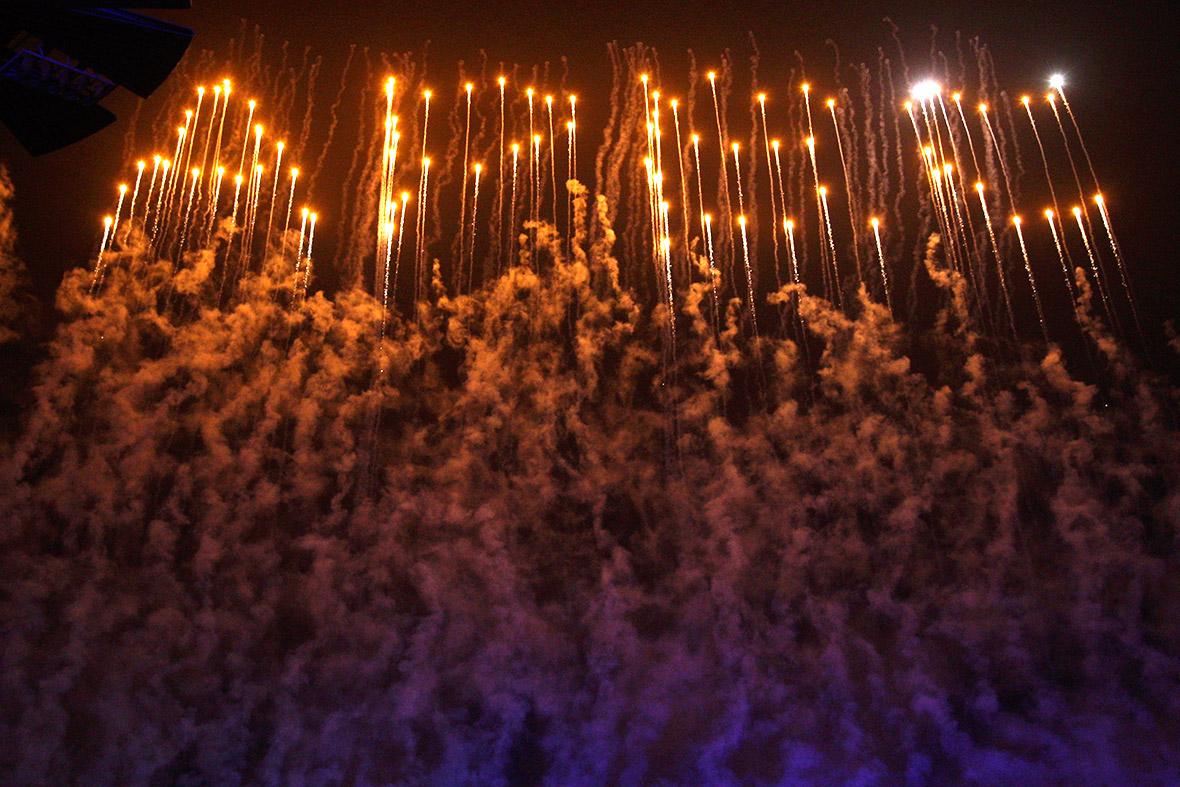 APEC fireworks
