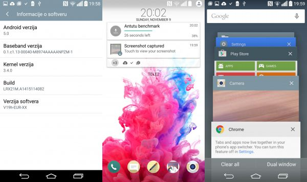 LG G3 D855 Gets Leaked Android 5.0 Lollipop Update [Download Link]