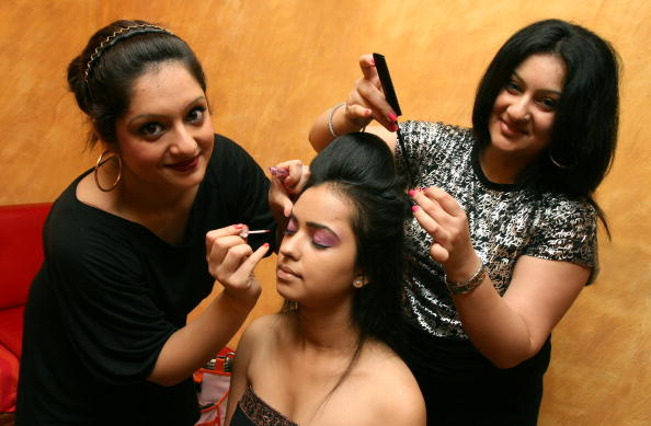 make up artists India women