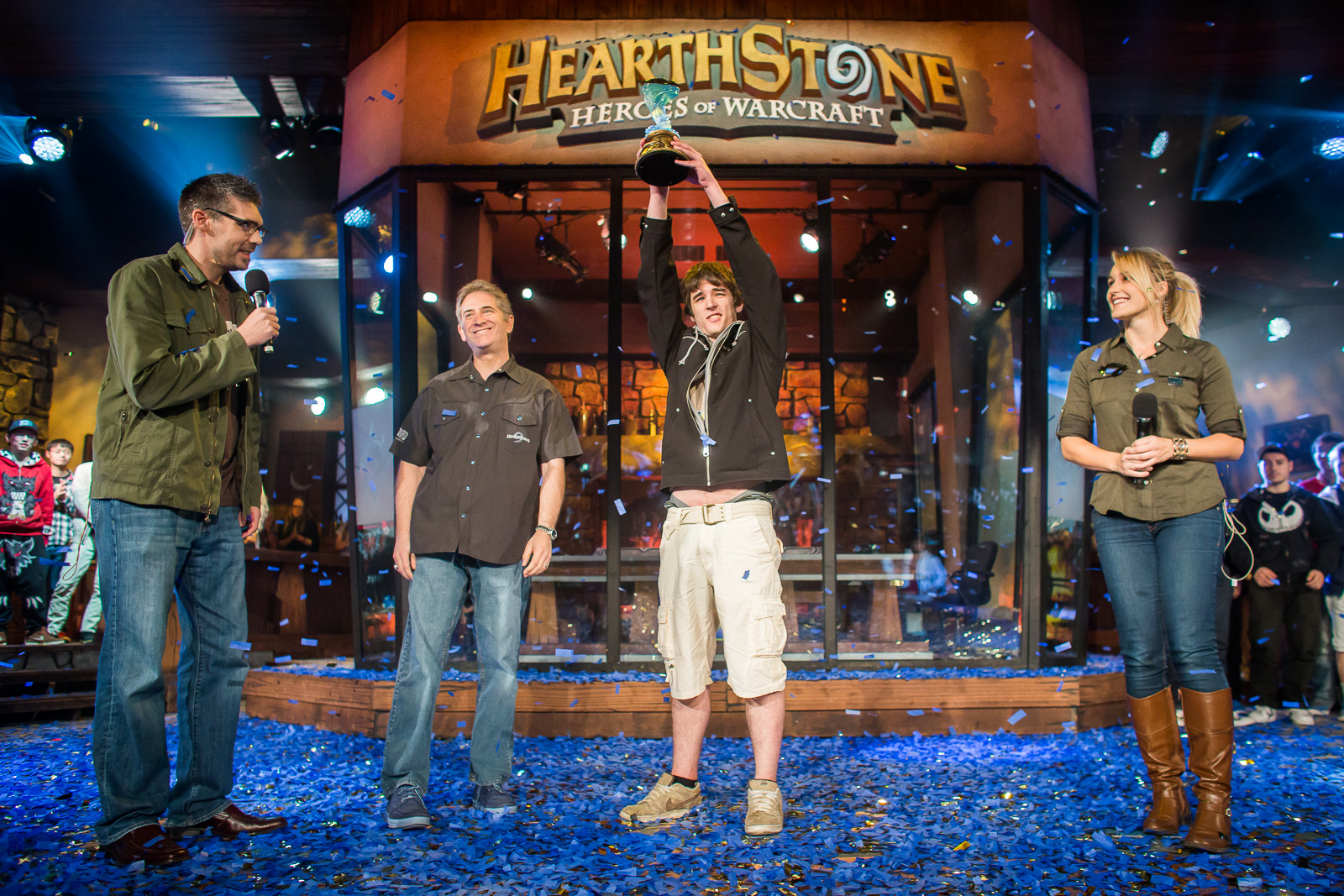 HearthStone 2014 BlizzCon winner James 'Firebat' Kostesich