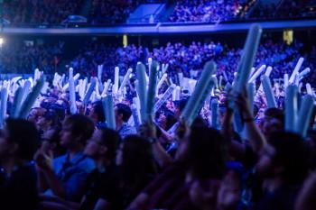 BlizzCon 2014 tournament crowds