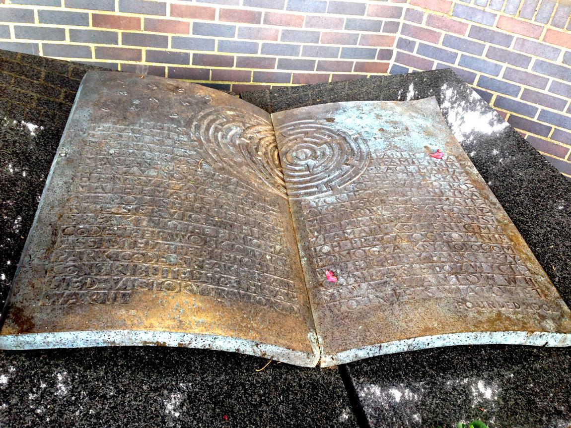 Polish Memorial at Bletchley Park
