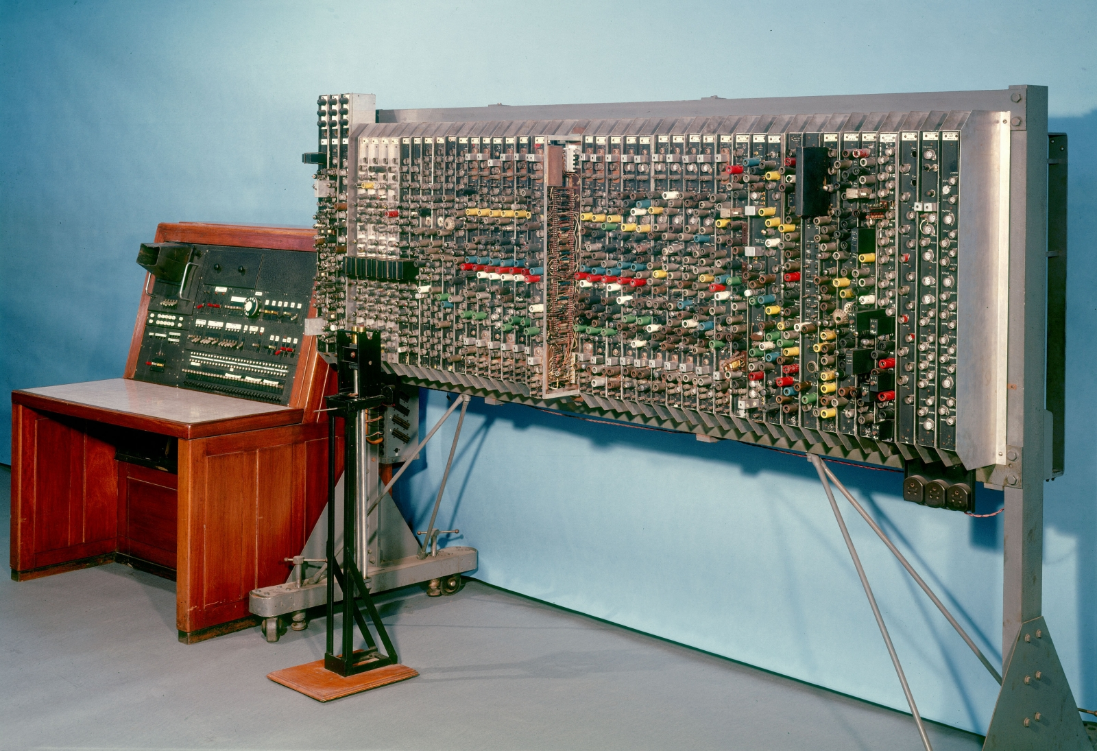 The Pilot Ace Computer, designed by Alan Turing at the National Physical Laboratory in the early 1950s