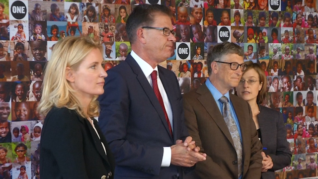 Bill Gates Introduces Aid Campaign to Help Save 'Millions of Lives'