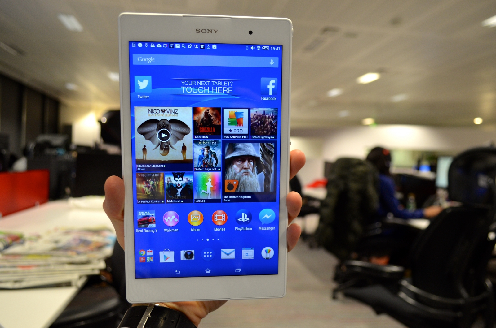 Sony Xperia Z3 Tablet Compact Review A True Rival To The Ipad Mini Seken