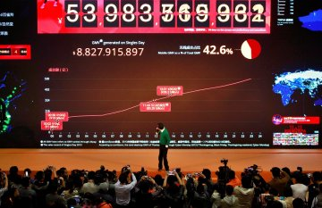 Alibaba Could Work With PayPal as Singles' Day Sales Beat $9bn