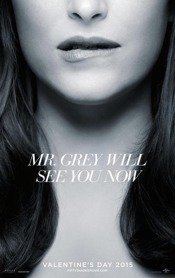 Fifty Shades of Grey New Trailer Where to Watch and Dakota Johnson's Seductive Lip Bite in New Poster