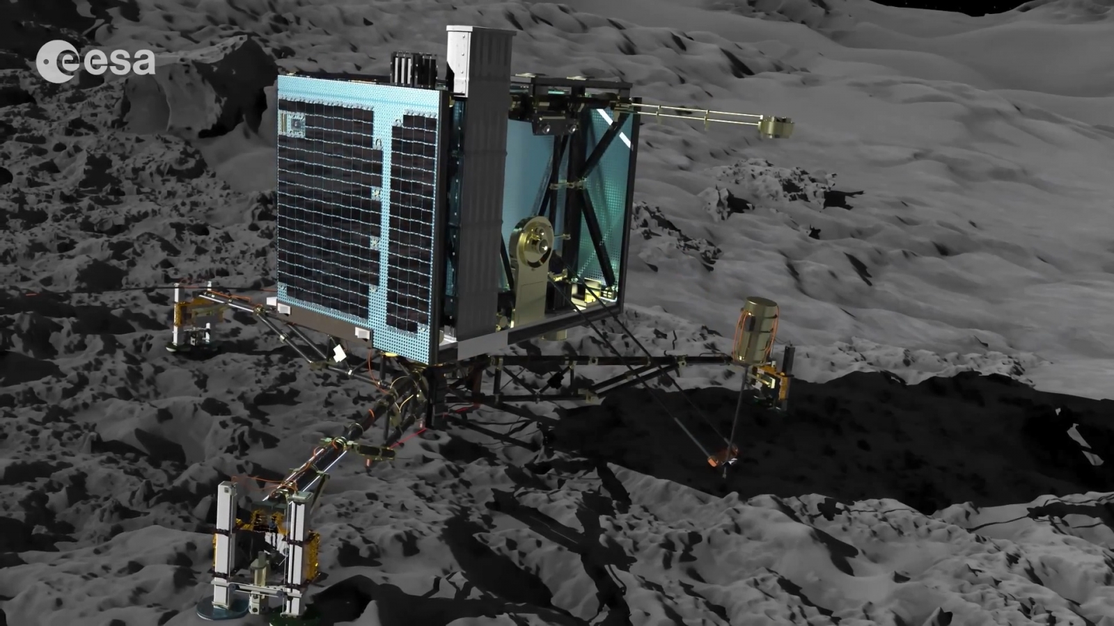 How Rosetta Spacecraft Will Attempt Comet Landing