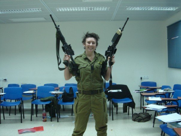 Gill Rosenberg ISIS Kurdish Female Fighters Canada Israel