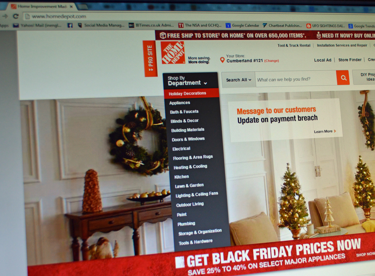 Home Depot favours customers that access its website on desktop computers rather than mobile apps, and shows them more results