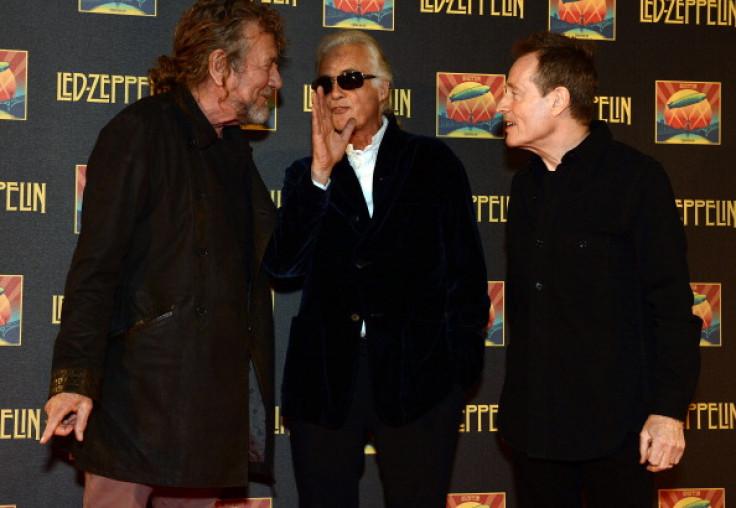 Robert Plant, Jimmy Page and John Paul Jones