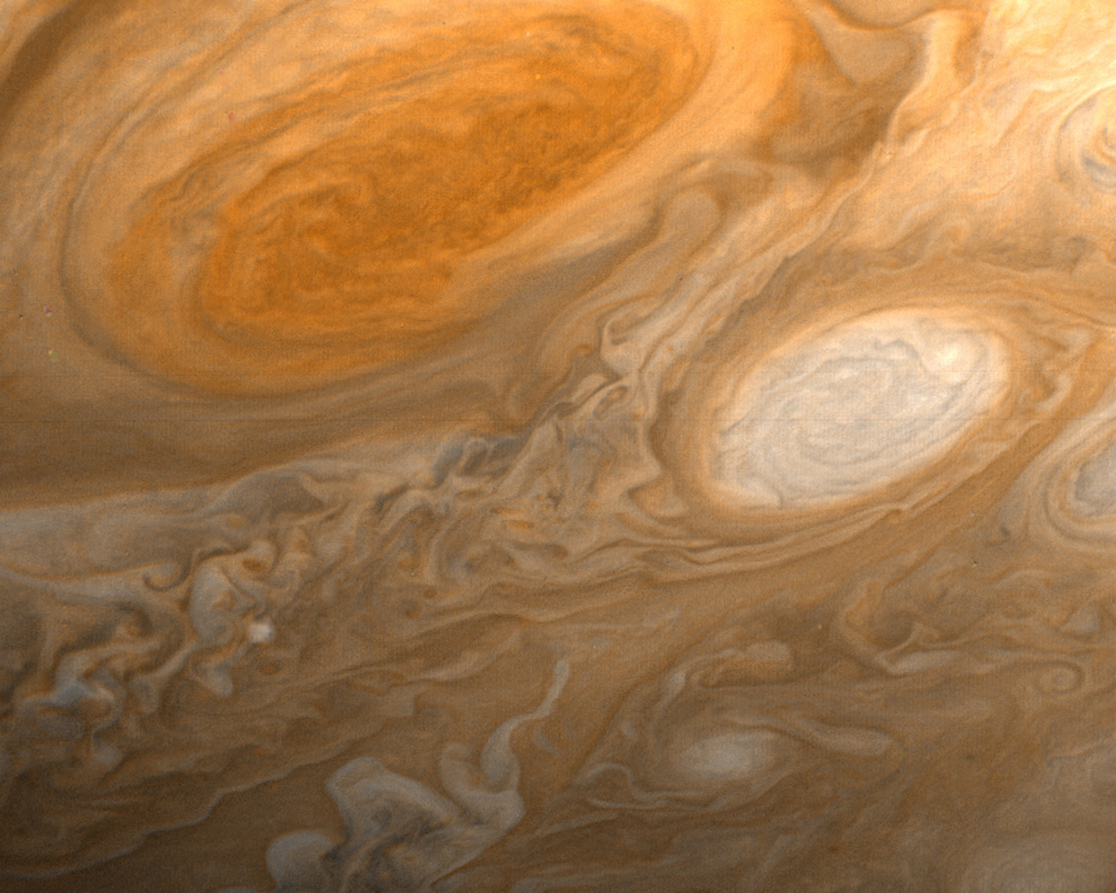 Nasa's scientists may have finally solved the mystery of the Great Red Spot on Jupiter