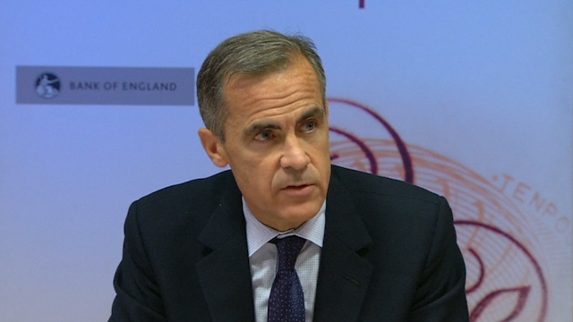 Carney: FX Investigation Finds No BoE Wrong-Doing