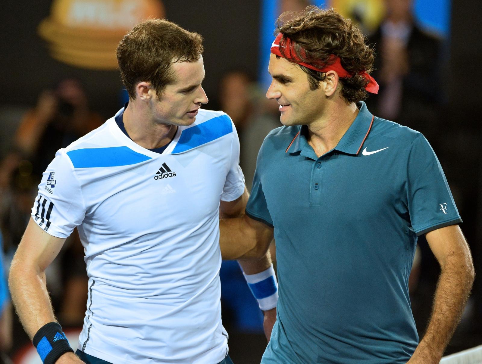 Roger Federer v Andy Murray