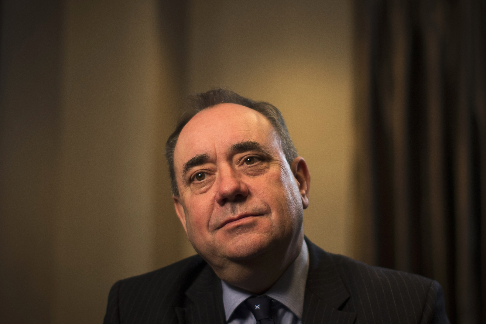 First Minister of Scotland Alex Salmond
