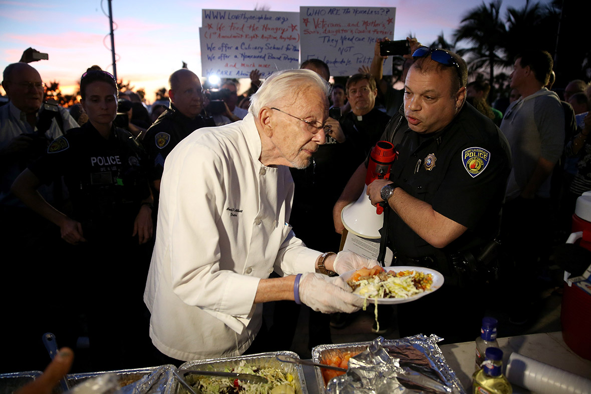 fort lauderdale feeding homeless