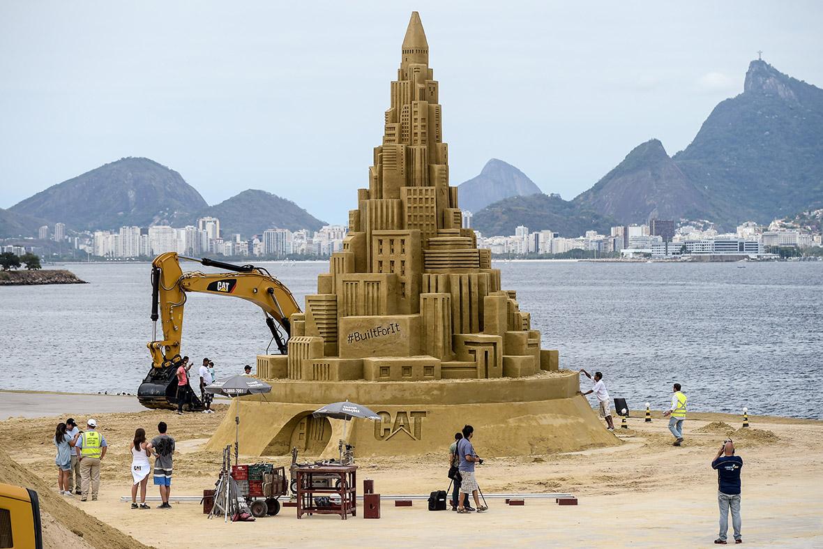 sand castle rio
