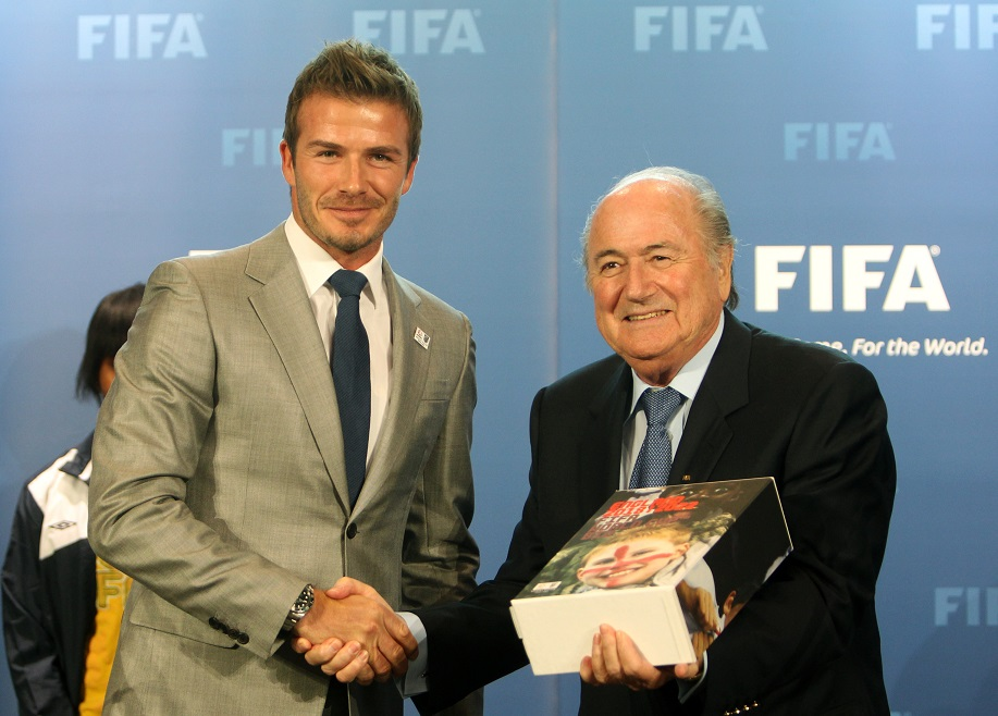 David Beckham Submits England's 2018 World Cup Bid
