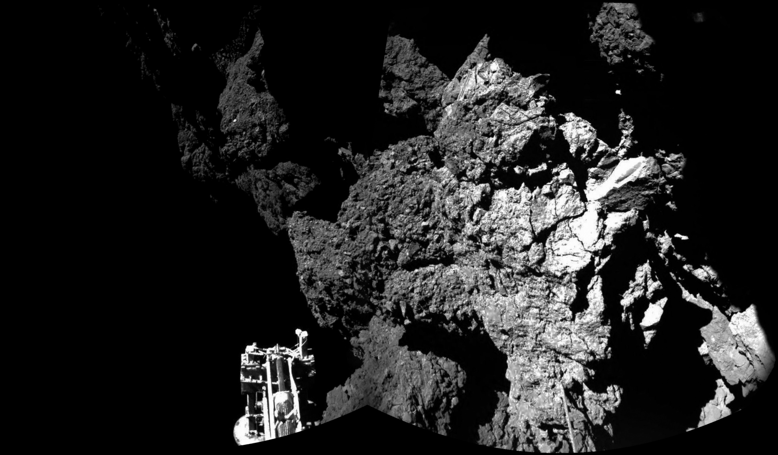 philae first photo