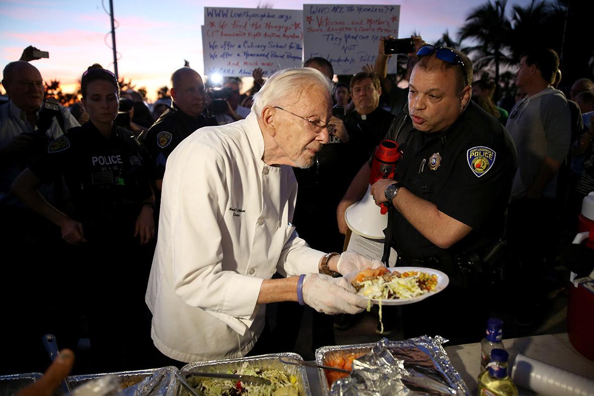 ft lauderdale feeding homeless