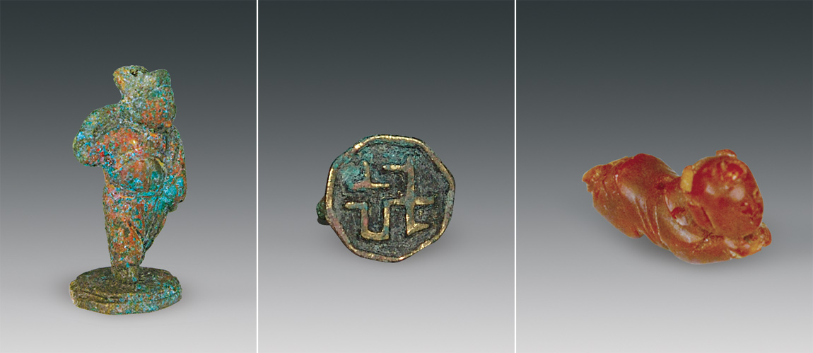 Grave goods from the Datong tomb