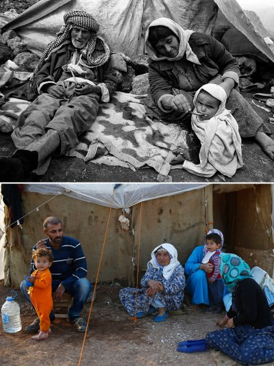 Kurdish refugees then and now
